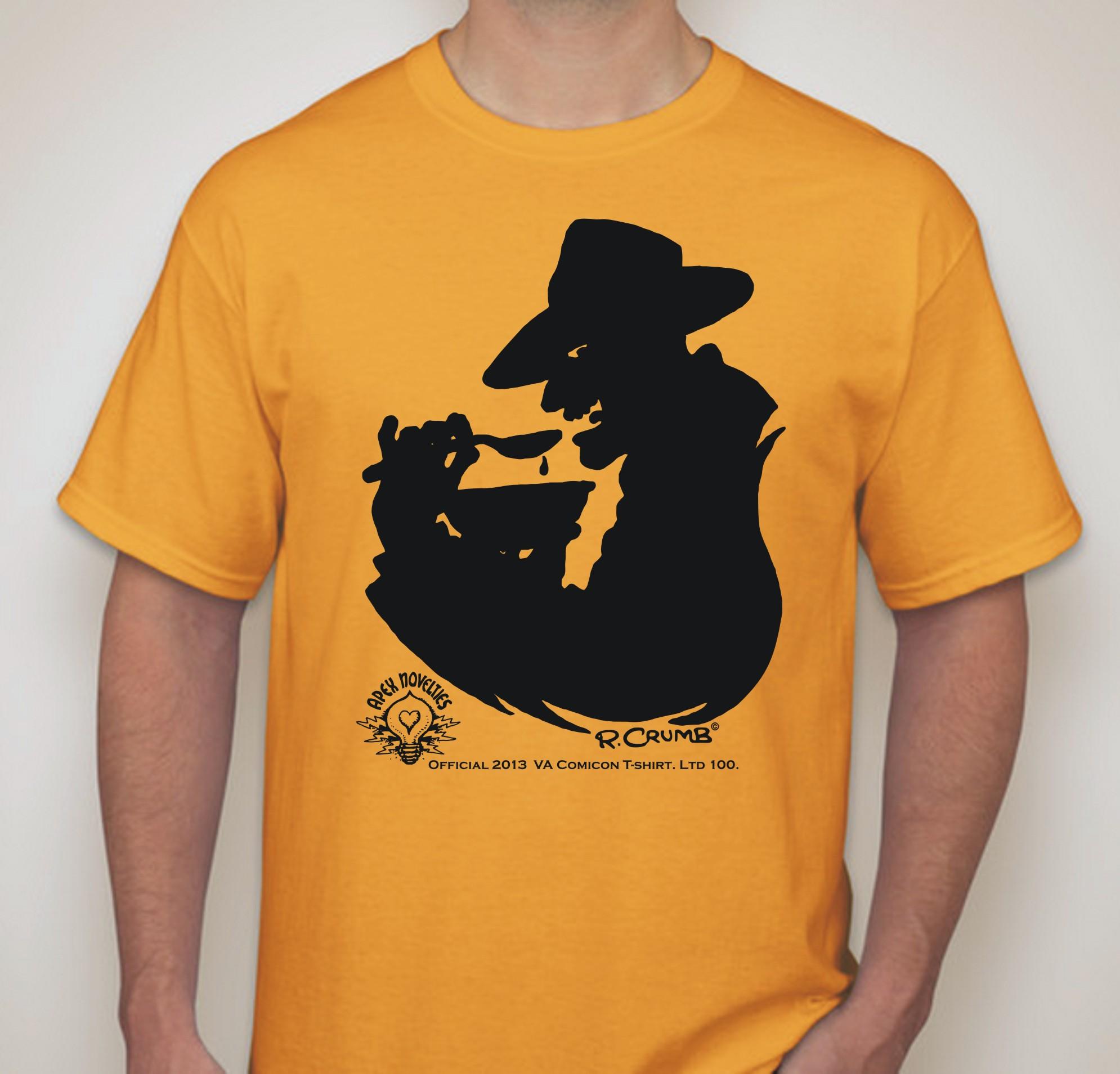 T shirt design richmond va - Robert Crumb T Shirt Ltd 100