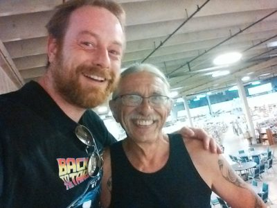Me with Chuck Rozanski, Owner of Mile High Comics!