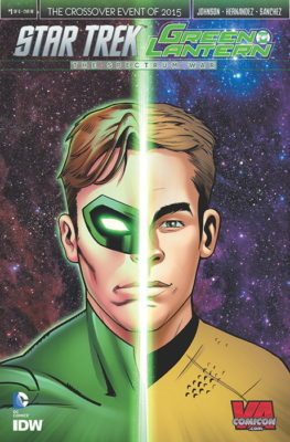 Shearer Star Trek Green Lantern