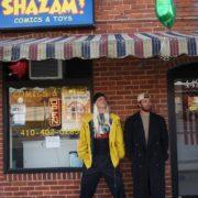 Shazam Comics and Toys