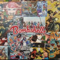 Bombshell Comic Art