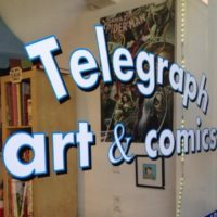 Telegraph Art & Comics!